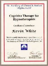 Cognitivr behavoural therapy cert for web